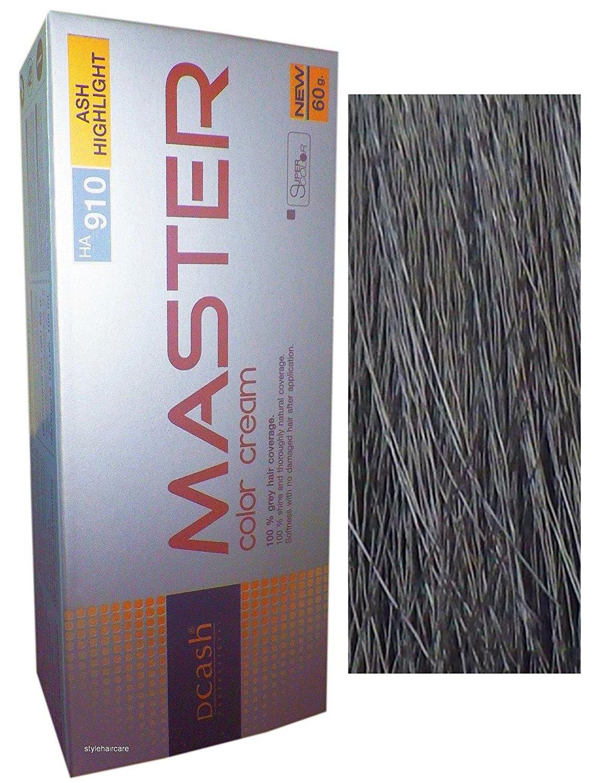 Hair COLOR Permanent Hair Cream Dye Ash Grey Hightlight