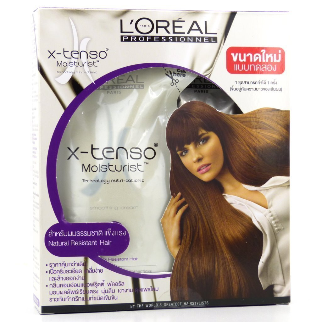 L'Oreal Professionnel x-tenso Moisturist Hair Straightener for Natural Resistant Hair