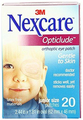 Nexcare Opticlude(Tm) Orthoptic Eyepatch, Regular-20Ct