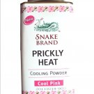 Snake Brand Prickly Heat Talc Powder - Cool Pink 100g