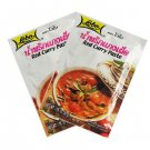 Thai Red Curry Paste Lobo Brand 2 x 50g Packets