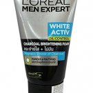 L'Oreal Men Expert White Activ Anti-Spots Oil Control Charcoal Foam 100ml