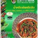 Thai Phad Prig Khing Curry Paste 50g. Mae Pranom Brand