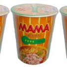 Mama Cup Pork Flavored Instant Noodles 60g x 3 Pieces