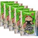 Crispy Seaweed Tao Kae Noi Brand Original Flavour 5 x Packs - Thai Snack
