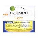 Garnier Light Whitening Peeling Overnight Cream 50 Ml. Thailand