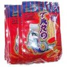 Taro Thai Fish Snack Hot Chilli Flavor 10 x 7.5gm Packs