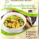Thai - Green Curry Paste 50g Mae Pranom Brand