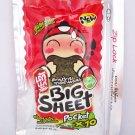 Tao Kae Noi Fried Seaweed Snack Spicy Flavoured Big Sheet