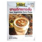 Lobo Brand Thai Sour Vegetable Curry Paste - 1.76Oz (5 Sachets)