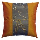 2 x Cushion Cover's Brown Gold Color