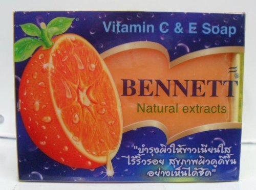 Bennet Vitamin C & E Soap Natural Extract 130 G. Thailand Product