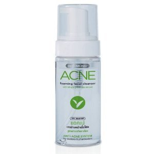 Dr. Somchai Anti-acne Foaming Facial Cleanser Wash Anti-acne With Green Tea Oil Made In Thailand