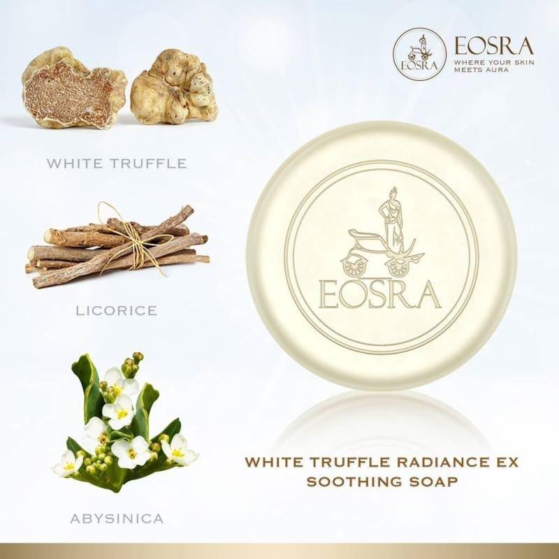 EOSRA White Truffle Radiance Ex Soothing Soap for Sensitive skin