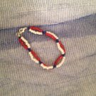Red, White, Blue Bracelet