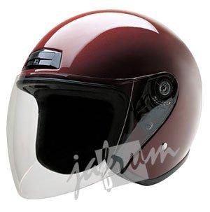 20Wine - Wine DOT Open Face Scooter Helmet
