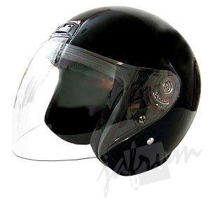 20Black - DOT Motorcycle Scooter Helmet
