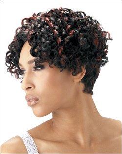 Human Hair Wig Short  HJ  204