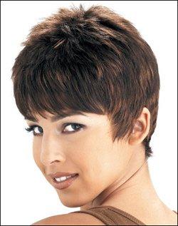 Human Hair Wig Short  HJ  206