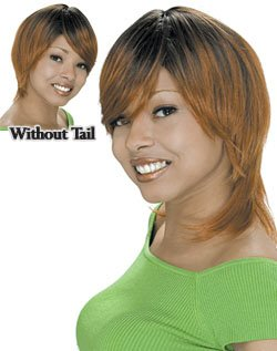 Human Hair Wig Short  X-10