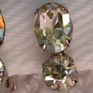 1940s CORO RHINESTONE EARRINGS (DES18)