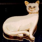 VINTAGE ENAMEL CAT BROOCH  (FIG11)