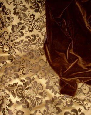Donghia Espresso Mohair Velvet Fabric