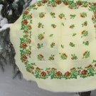 Vintage Head scarf, Vintage Ukrainian shawl, Russian Floral Scarf ,russian floral scarf,  white shaw