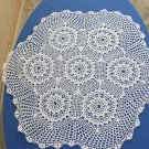 Crochet cotton lace, USSR lace napkin, Cotton lace napkin, Vintage Cotton lace doilies, Table doily,