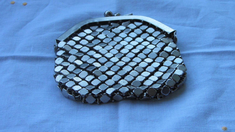 Silver metal Change Wallet (Billfold, Purse) from late 70s Soviet Union