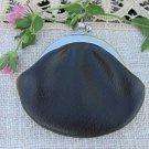 Vintage Leatherette Wallet, USSR Black wallet, Leatherette Purse, Leatherette Unisex black wallet, S