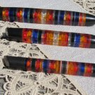 Old and Fancy Plexiglas 3 Pen Set, USSR Plexiglas pen gift, Christmas tree decor, Plexiglas for Deco