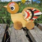 Great wooden bird handly painted toy, Wooden bird toy, Folklore ornament woden toy, Bird Ukrainian t