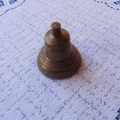 Vintage Russian Bell, Antique Christmas USSR Bell Figurine, Vitage Broken Bell, Russian Souvenir, Ho