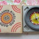 Vintage Rottgames Bakelite Roulette Wheel Table Game with Chips from USSR, Casino game, Las vegas in