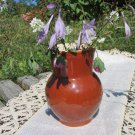 Vintage Pottery Pitcher from Ukrainian Country Side, Country Basket Collection, Vintage jar ceramic,