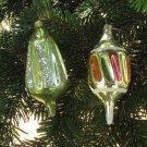 2 Ball Decor Antique Christmas set, Vintage 2 Balls Set Christmas Ornament, Ball xmas ornament, Chri