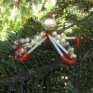 2 Decor Toys Antique Christmas set, Vintage 2 Toys Set Christmas Ornament, Toys xmas ornament, Chris