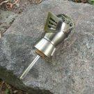 Vintage Soda Siphon Metal Stopper for Bottle, Authentic Soviet Knight Shaped bottle stopper, Retro d