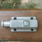 Victorian Mismatched Shabby Rusty Cupboard Catch, Toilet Shed Door Lock/Catch/Latch Lock Small Slide