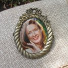 Silver/Golden Metal Small Frames Set of 2, , Kids photo frames, Metal decor picture frame, Photo fra