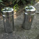Silver Salt and Pepper Shakers Set, Hollywood Regency Style Shabby Cottage Chic, Delightful England