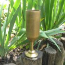 Golden drinking party hand made goblet, Golden Heavy Goblet For Wine, Golden midcentury cup, Game of