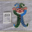 Kids Room Wall Hooks Arlequin Clown, Colorfull Clown Hook Kids Room Decor Idea, Decor Baby Room Idea