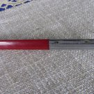 Red Plastic Automatic Pen For Office, USSR Era Office Pen Classic, Office Accessories, Simple Automa