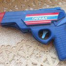Vitage Plastic Toy Gun WIth Shoot Sound, VIntage Toy USSR Collectible Gift, Rare USSR Toy Gun Origin