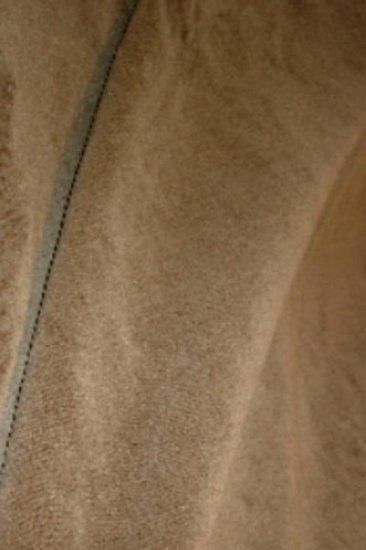 Donghia Wool Velvet Upholstery Fabric-Raisin
