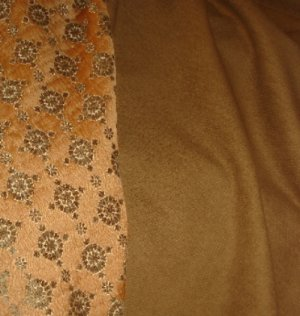Donghia Chenille Boucle Upholstery Fabric-Earth
