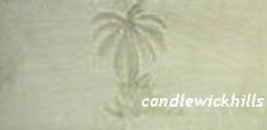 NIP Tommy Bahama Monaco Palm Bed Skirt Panels-Aloe-King