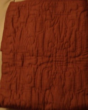 Sferra National Geographic  Cadena Quilted Sham-Deep Red